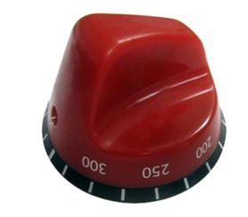 Temperature-Setting Knob for a Commercial Oven
